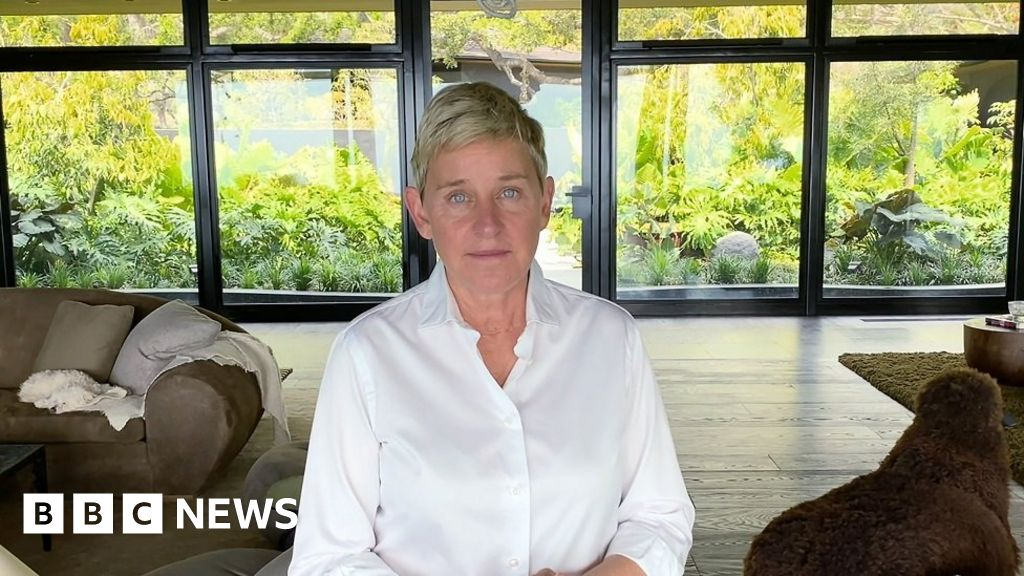 Ellen DeGeneres: Humbled host returns to TV with apology and admission thumbnail