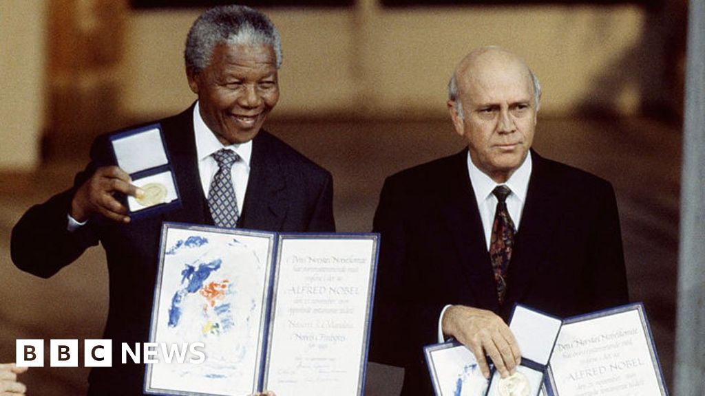 FW de Klerk and the South African row over apartheid and crimes against humanity - BBC News