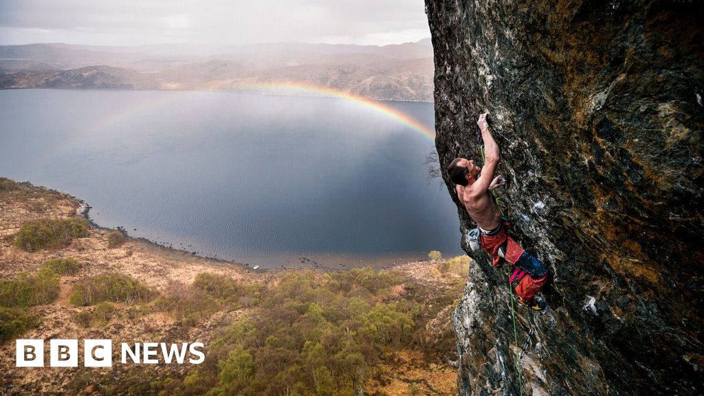 Glasgow s Dave Macleod s Highlands and climbing obsession