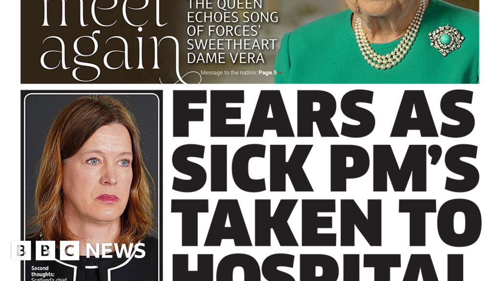 'Fears' for ill PM and Queen's 'message of hope'