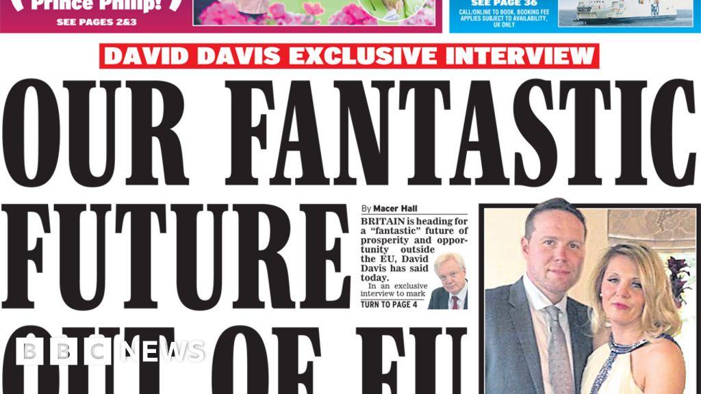 Newspaper headlines: 'Fantastic Brexit' and 'bog roll Brexit'