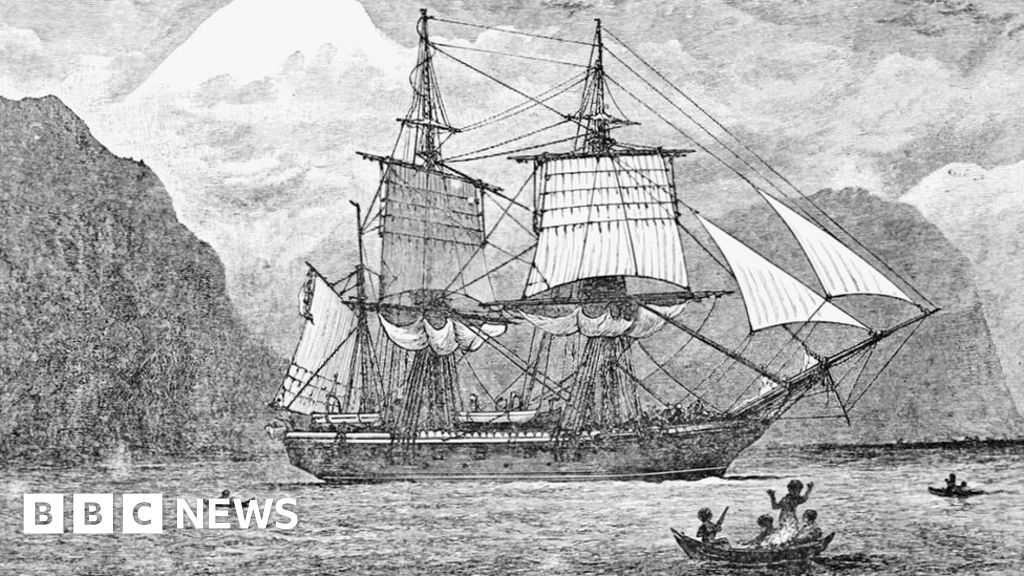 HMS Beagle: Dock where Darwin's ship 'was dismantled' revealed