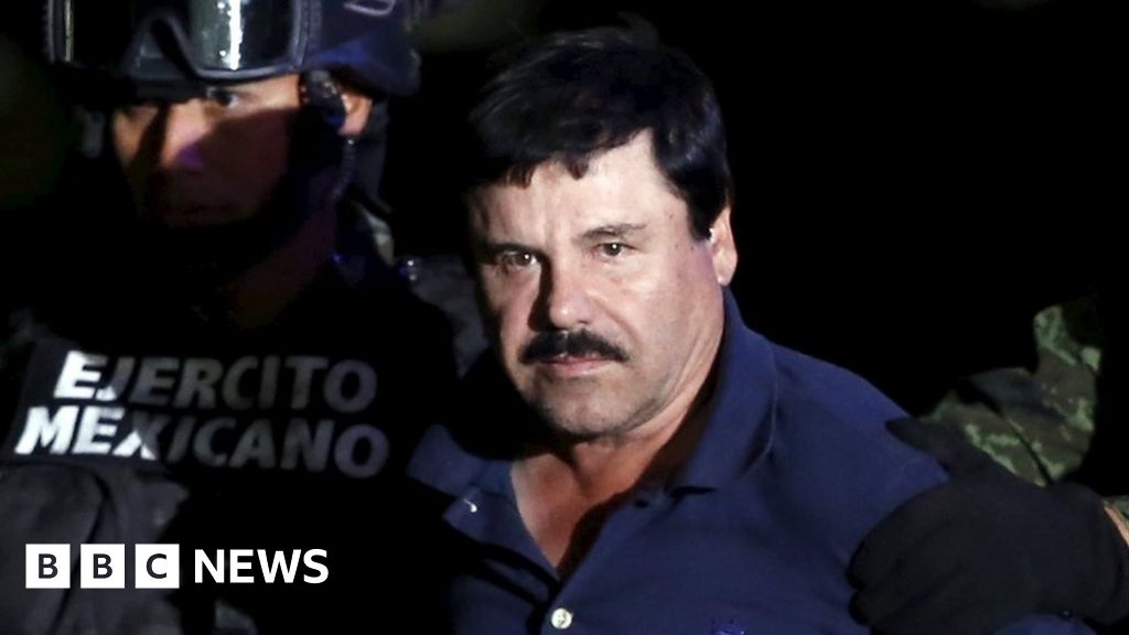 El Chapo: How Mexico's drug kingpin fell victim to his own legend