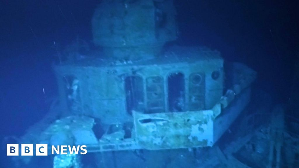 USS Johnston: Sub dives into the most sunken ships