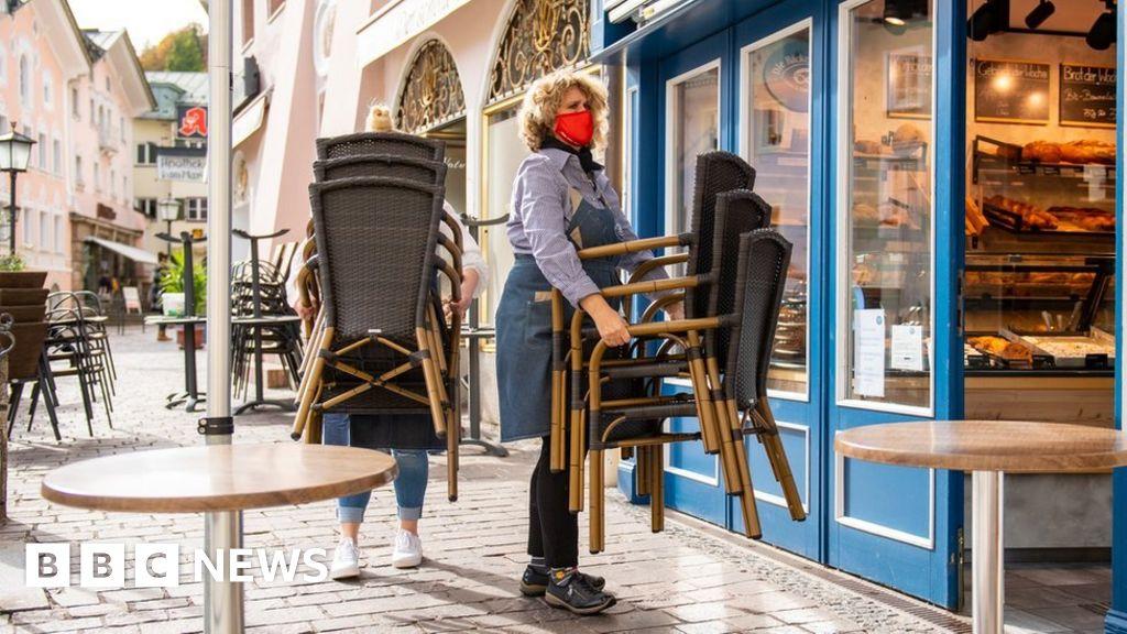 Coronavirus: German Alpine region goes into lockdown
