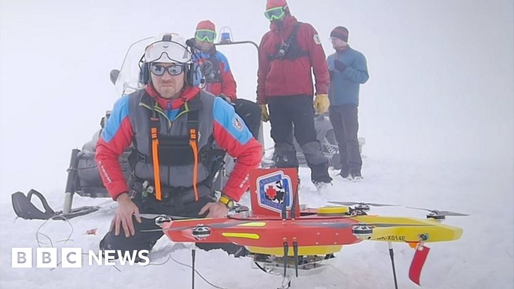 The Snow Patrol Drones Saving Skiiers from an Icy Death