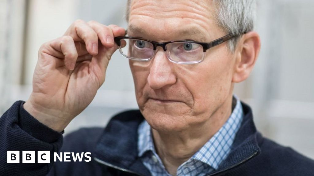 Apple's Tim Cook keeps nephew off social media