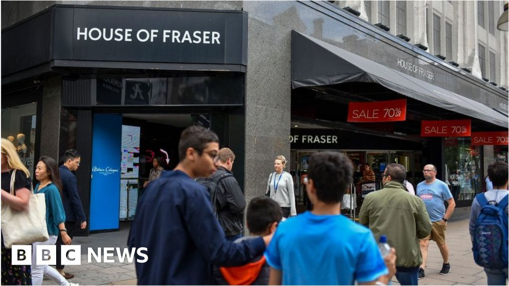 Más tiendas de House of Fraser cerrarán, advierte Mike Ashley thumbnail