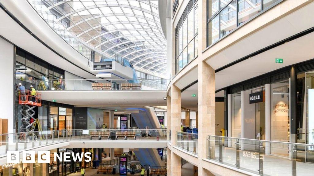 Edinburgh's St James Quarter shopping centre opens