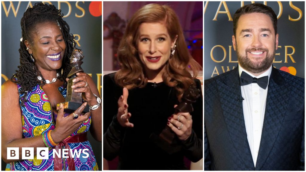 Olivier Awards: Messages of 'faith and hope' for theatre