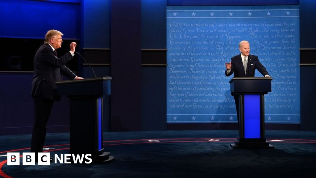 US 2020 election: Trump and Biden's debate claims fact-checked
