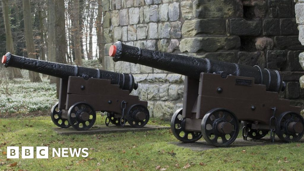 english heritage battles to save decaying cannon bbc news