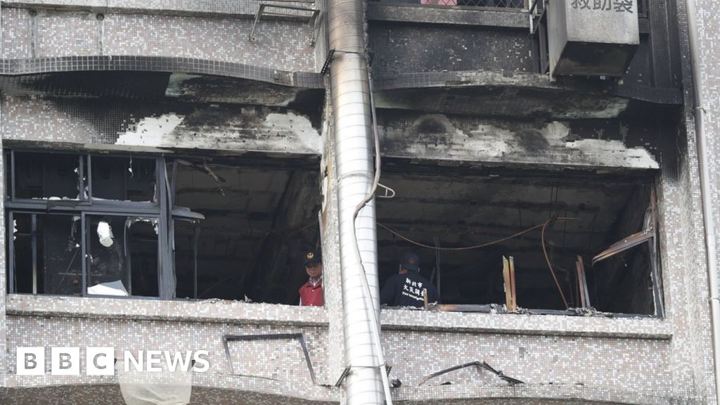 102946939 hi048650336 - Lethal fire breaks out at Taiwan health center