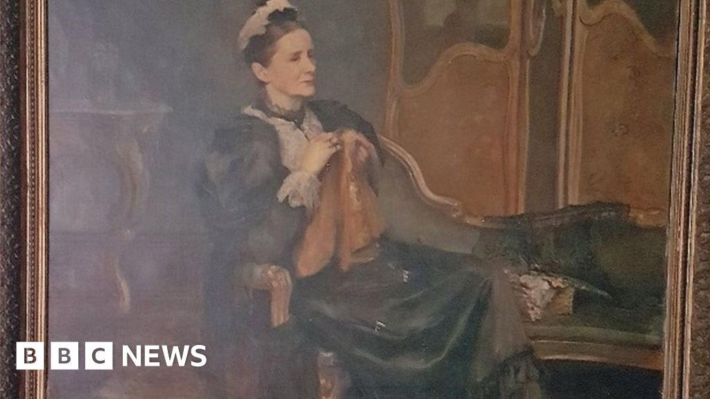 Hymn writer portrait to go on display for first time