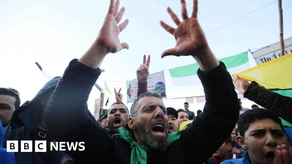 Algeria's protests are back and the president is worried