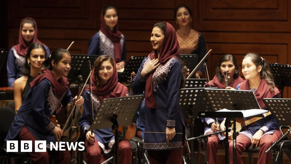 Meet Afghanistan's first all-female orchestra