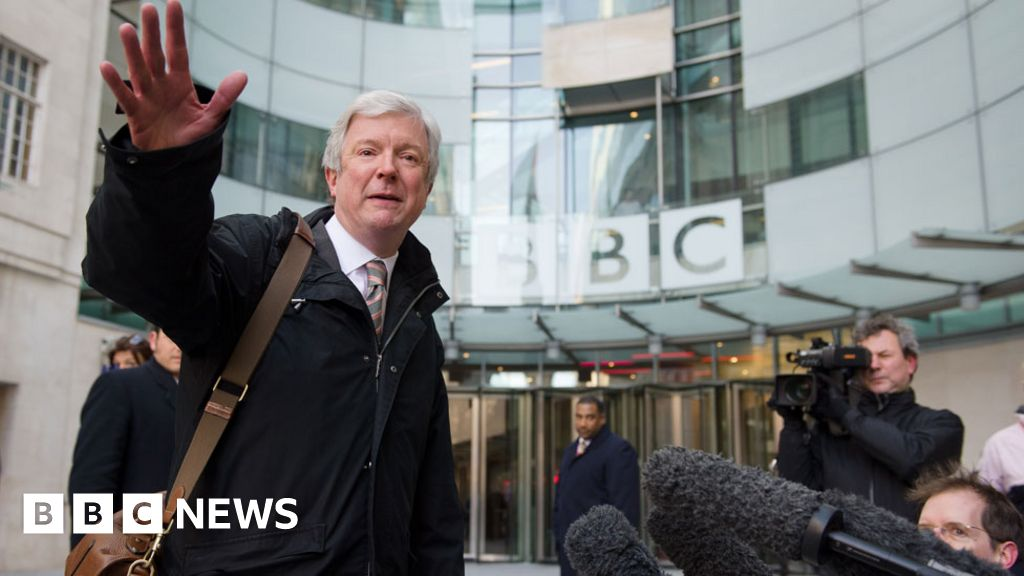 Mr. Hall, step down as BBC Director-General
