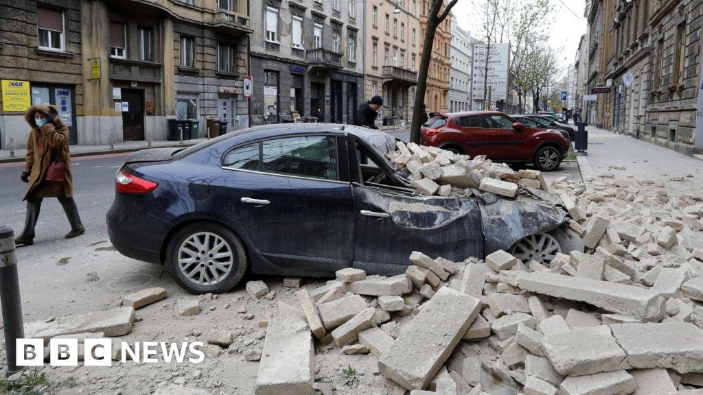 Earthquake Rocks Croatia S Capital Zagreb Bbc News