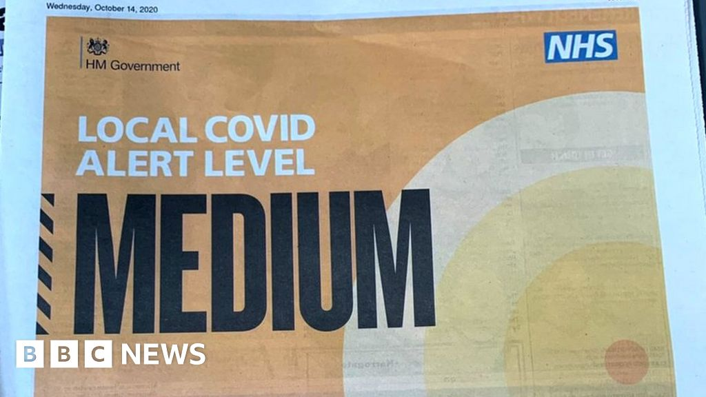 Government 'incompetence' blamed for wrong Covid tier ads