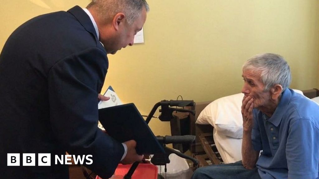 War vet with dementia told 'duty is done'
