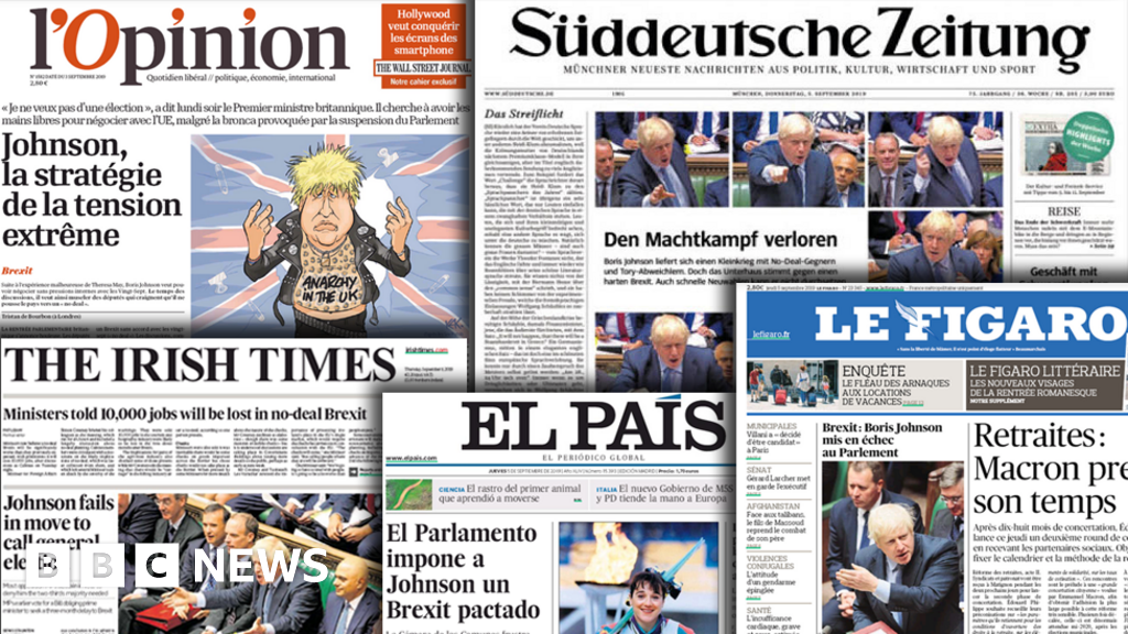 Johnson s Brexit drama grips European press