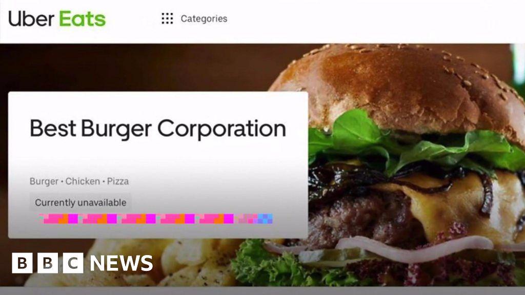 'Shocking' fake takeaway on Uber Eats