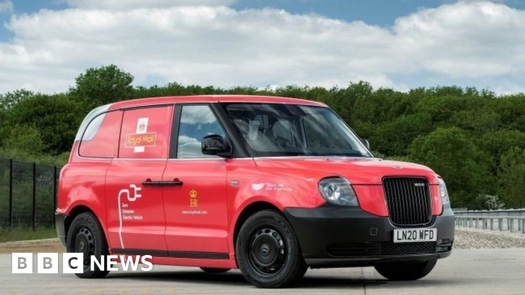 Royal Mail trials refitted black cab electric vans