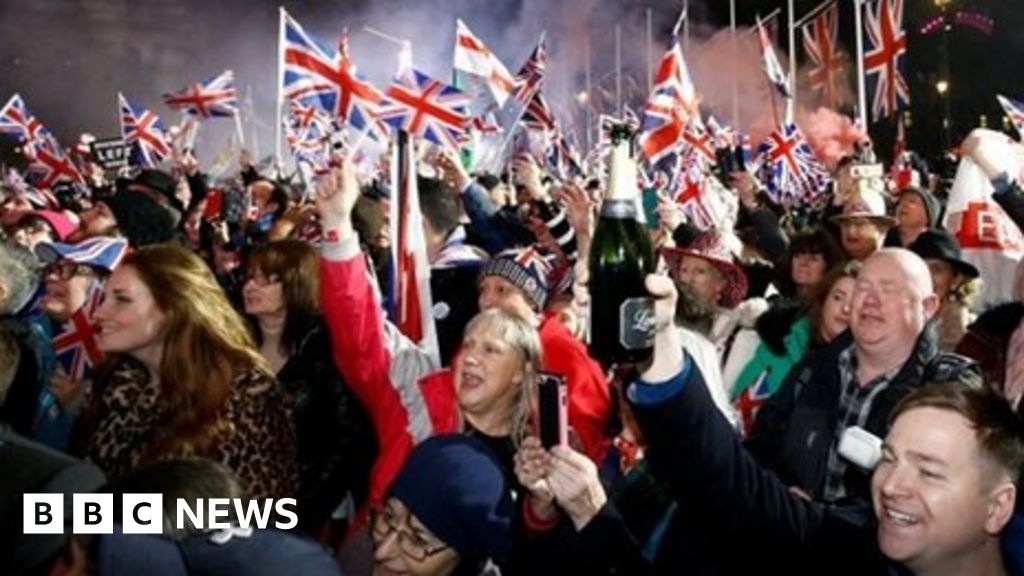 Brexit: celebrations and commiserations thumbnail