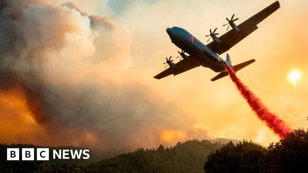 California fires: Six killed as thousands are forced to flee