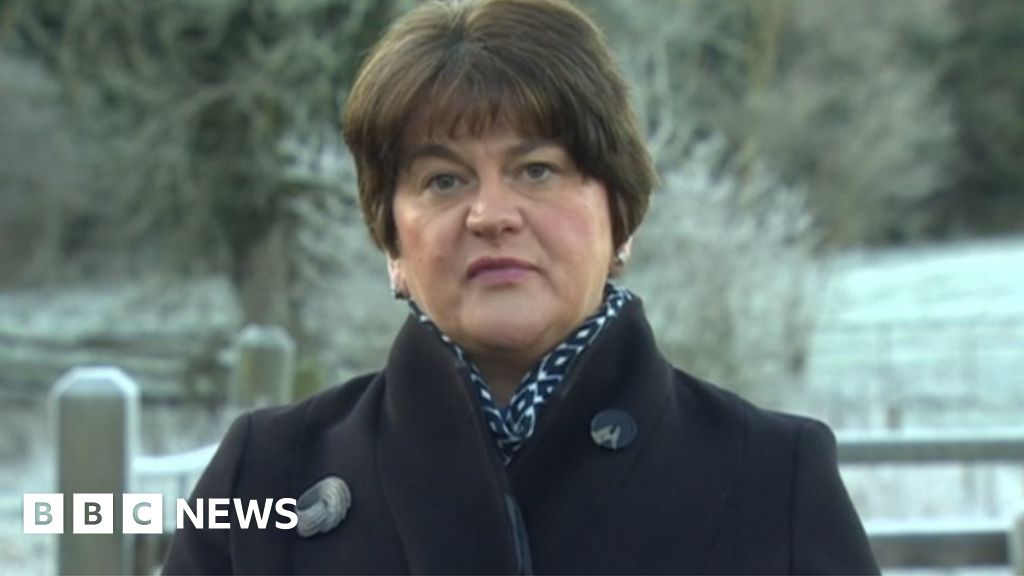 Brexit: Arlene Foster sees 'gateway of opportunity' in UK-EU trade deal