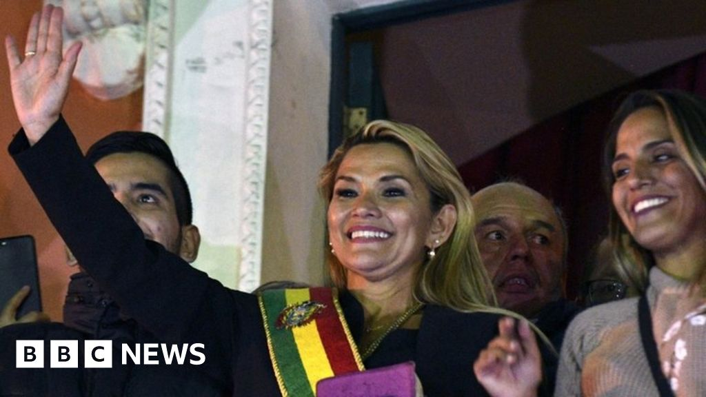 Bolivia crisis: Jeanine Áñez assumes interim presidency