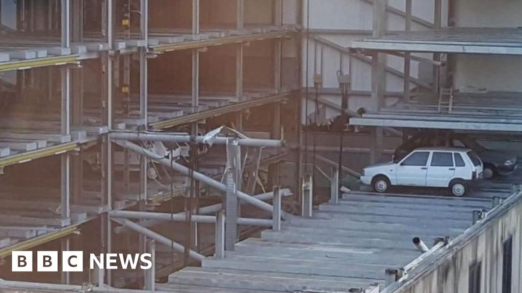 The mystery of the cars abandoned in a robot car park