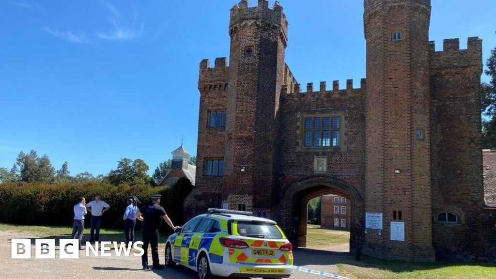 Man died at castle 'after confronting poachers'