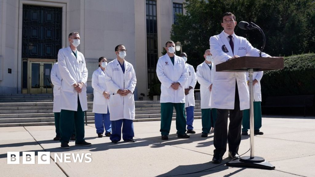 Covid and Trump: The president's healthcare v the average American's