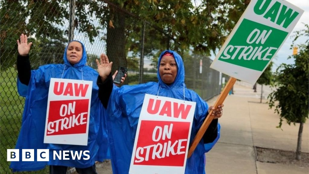 General Motors faces strike by almost 50,000 staff