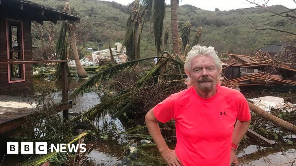 Hurricane Irma wrecks Sir Richard Branson's Necker Island ...