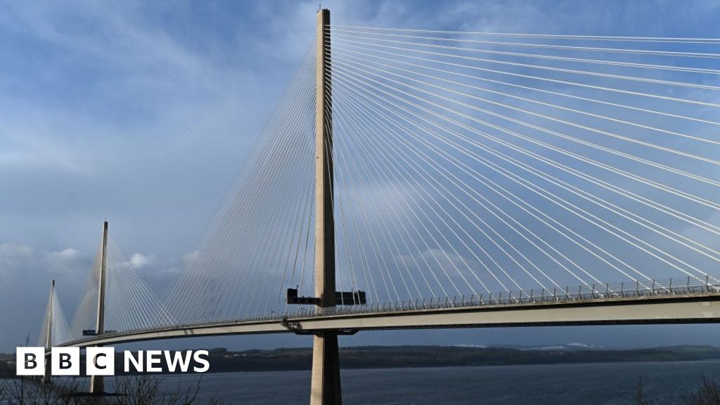How do you stop ice falling from bridge cables?