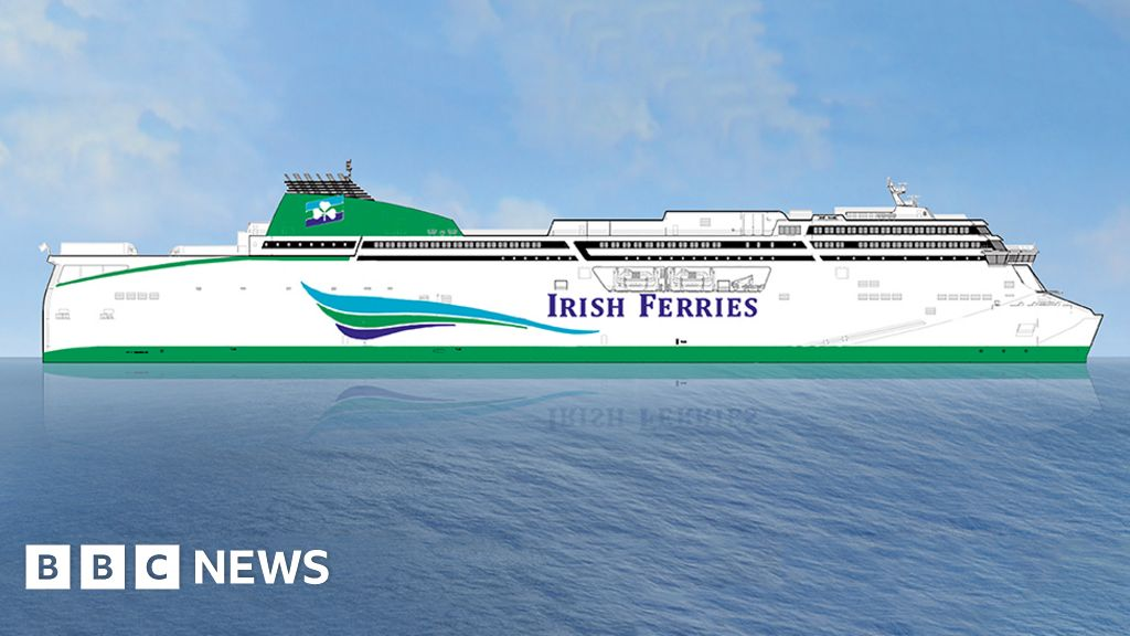 Ferry To Ireland From Holyhead >> Irish Ferries to build new ship for Holyhead to Dublin crossing - BBC News
