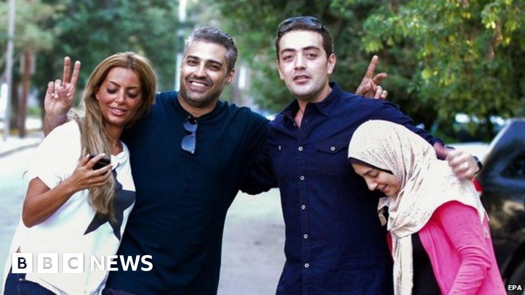 Egypt frees Al Jazeera journalists