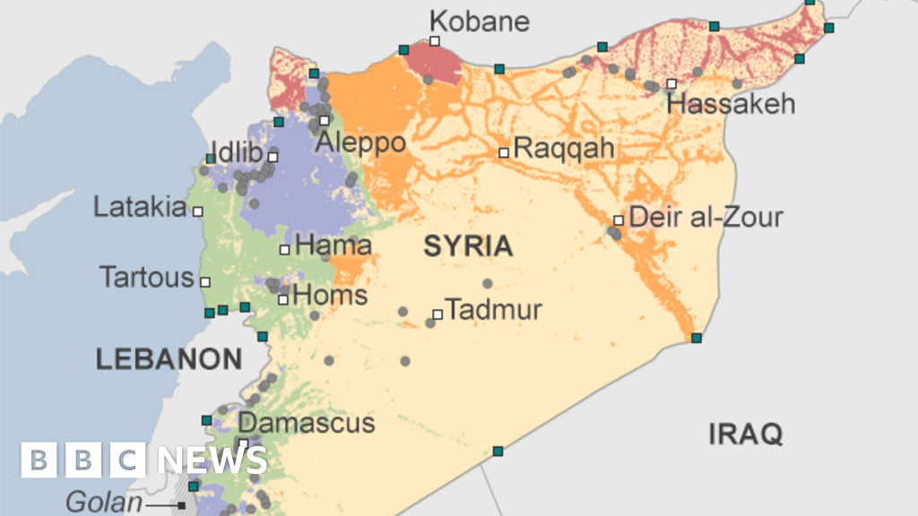 Syria: Mapping the conflict - BBC News on athens map, mosul map, bursa map, syria map, middle east map, isfahan map, tel aviv map, beirut map, latakia map, benghazi map, antioch map, jerusalem map, medina map, amman map, ankara map, sinai peninsula map, basra map, jericho map, tyre map, catal huyuk map,