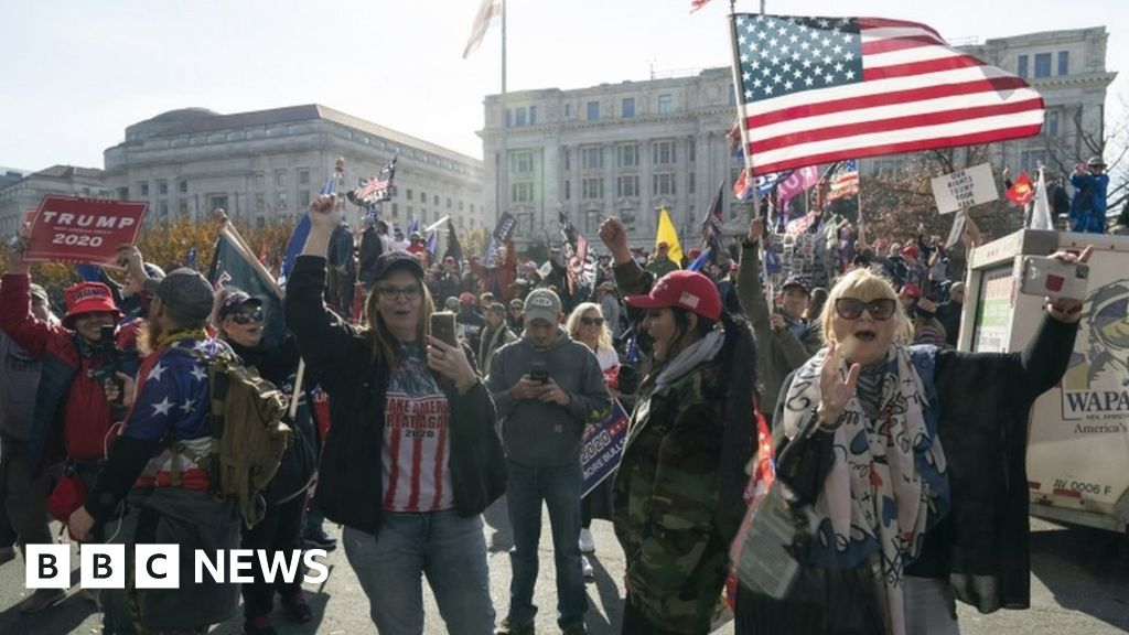 Million MAGA March: Protesters gather for pro-Trump rallies