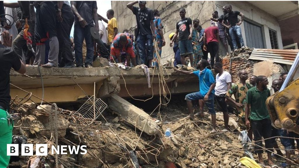 QnA VBage Nigeria school collapse: Fears of trapped children in Lagos