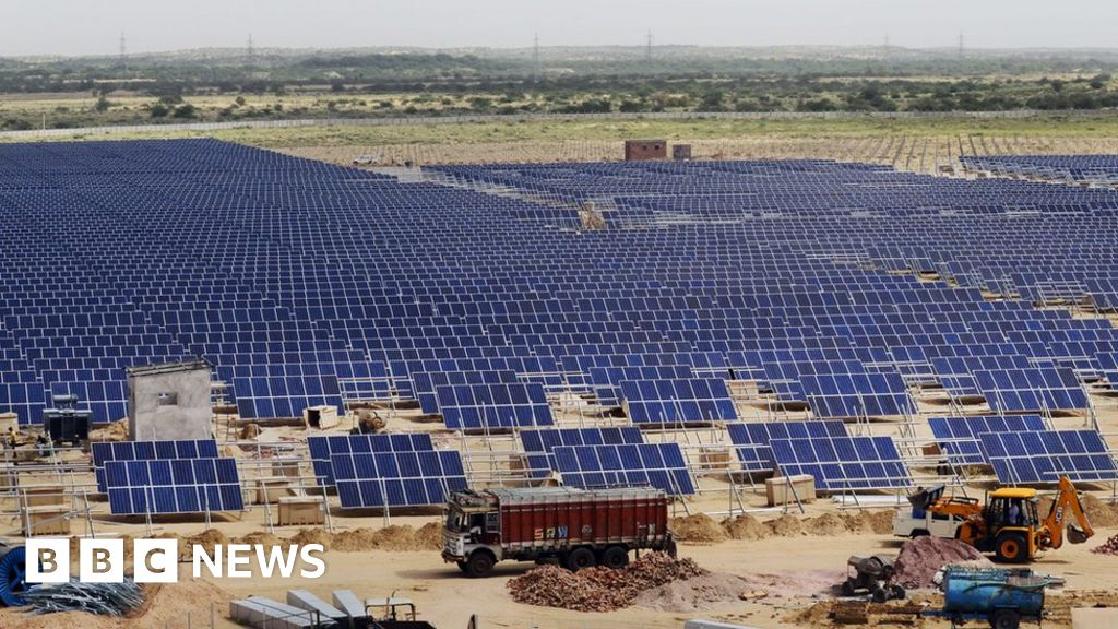 0d31432aeabc Is the US undermining India's solar power programme? - BBC News