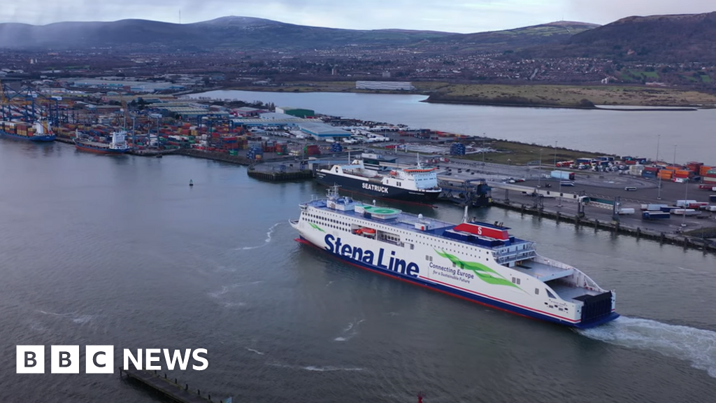 Stena Line's new Belfast ferry moves to Rosslare in 'Brexit busting move'
