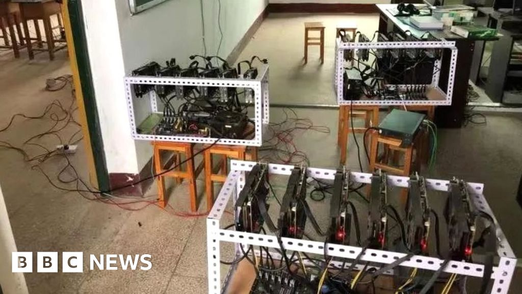 cryptocurrency mining china arrest