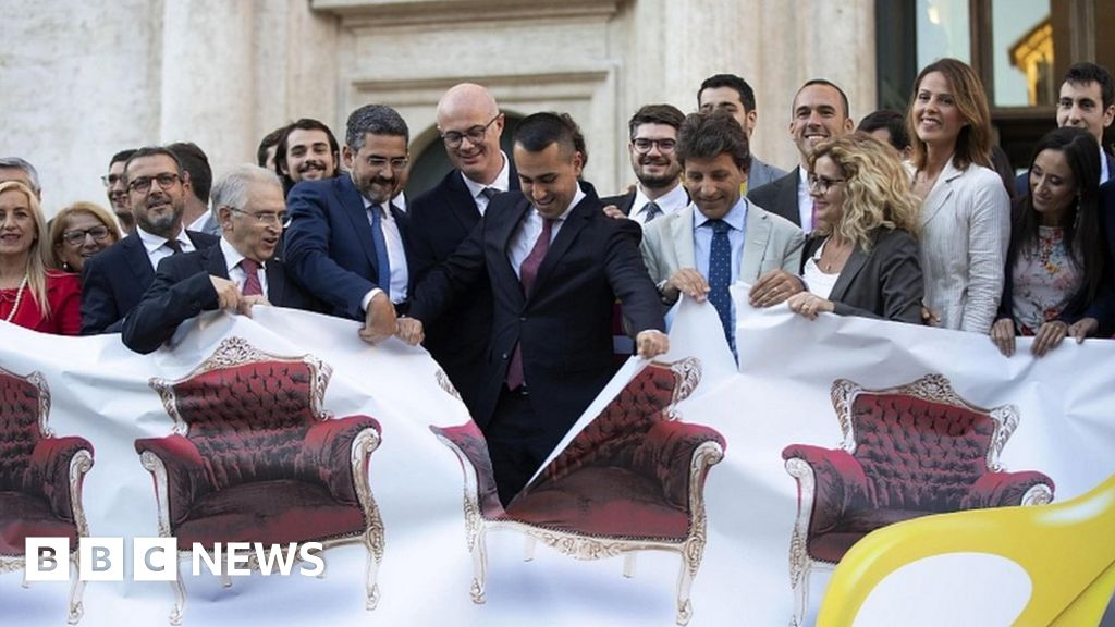 Italy reduces size of parliament 'to save millions'