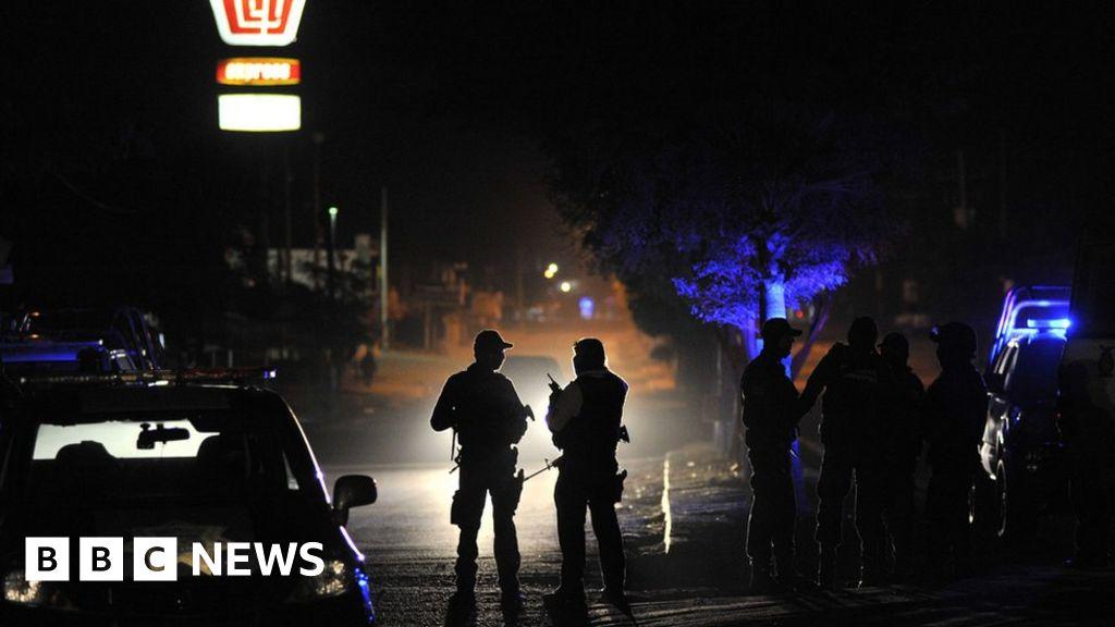 Fourteen police dead in Mexico gun attack thumbnail