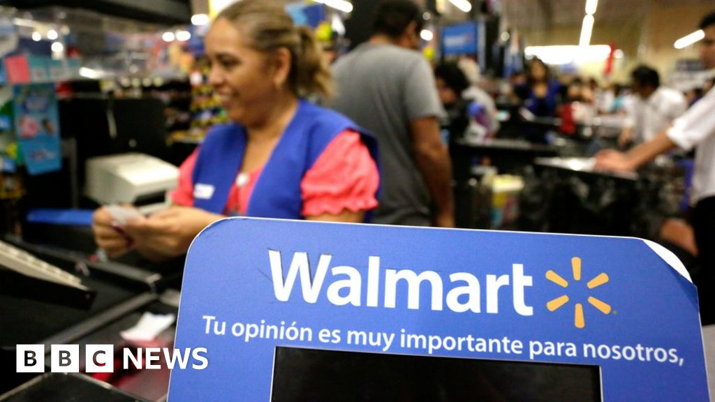 Walmart shares fall 10% as online sales slow