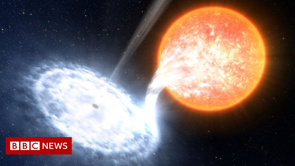 Signs of first planet found outside our galaxy - BBC News