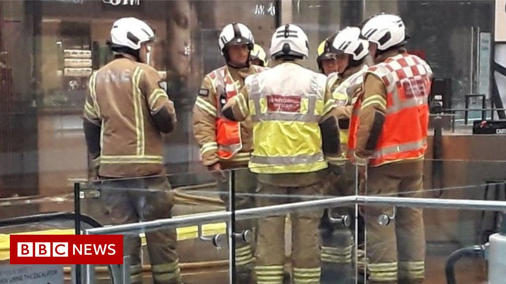 Westfield Stratford closed after fire in first floor shop
